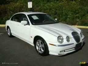 Jaguar S Type White Spindrift White 2000 Jaguar S Type 3 0 Exterior Photo