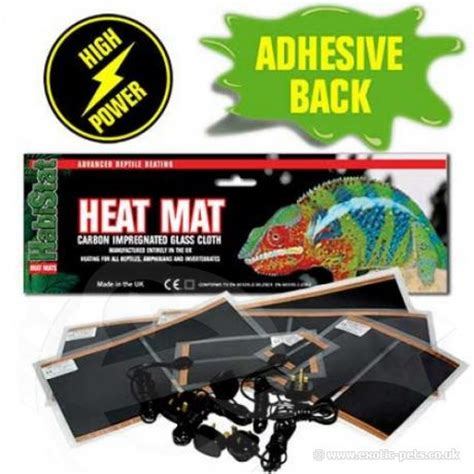 habistat hi power heat mat adhesive 4 sizes available