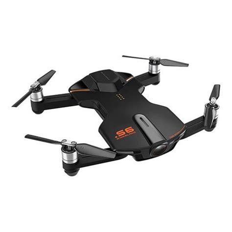 Quadcopter Pocket Drone wingsland s6 pocket selfie drone black