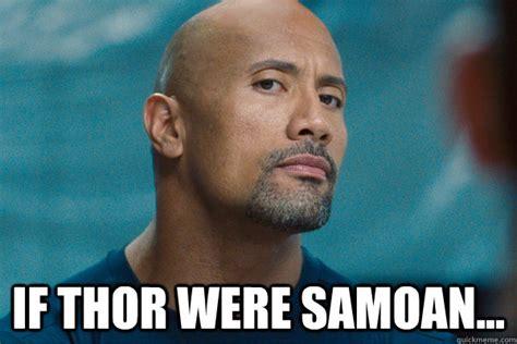 samoan thor memes quickmeme