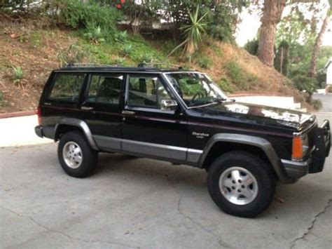 Used Jeeps In California Purchase Used 1992 Jeep Laredo Xj In Los Angeles
