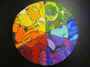color wheel project mrs highsmith exle of finished color wheel