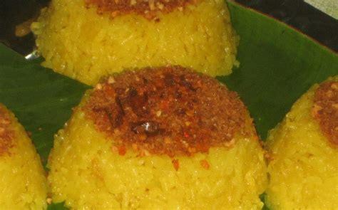 8 Liter Nangka Kelapa Muda Ketan 1 resep keluarga nasi ketan dan serundeng kelapa yellow sticky rice and tasty dried coconut