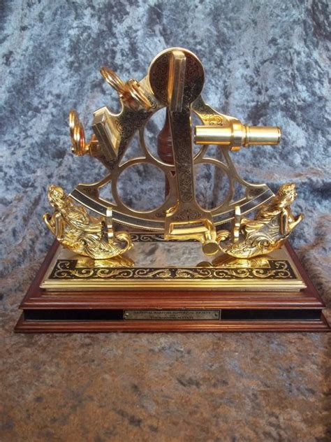 sextant limited franklin mint the maritime sextant met standaard