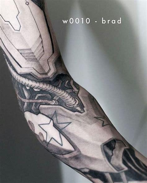cyborg tattoo best 25 robot ideas on minimalist