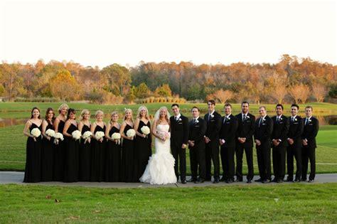 elegant black white blush wedding every last detail