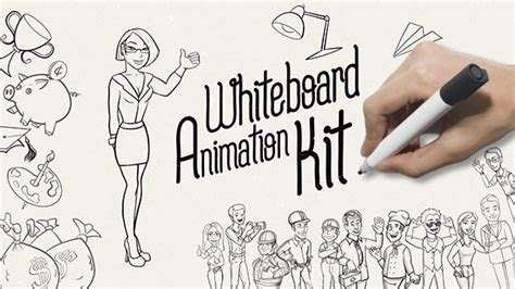 Whiteboard Animation Kit Commercials After Effects Templates F5 Design Com Whiteboard Animation Template Free