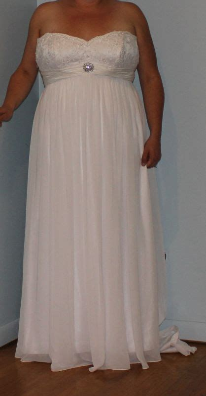 Wedding Dresses Size 18 by Several Plus Size Wedding Dresses For Sale Size 18 20 22