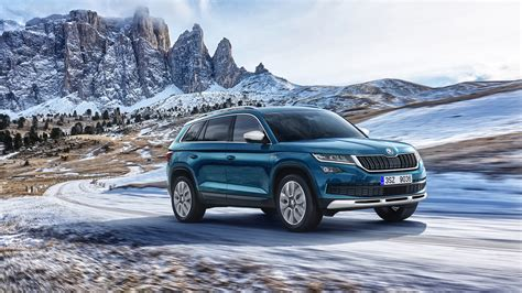 Koda Car Wallpaper Hd by 2017 Skoda Kodiaq Scout 4k Wallpaper Hd Car Wallpapers