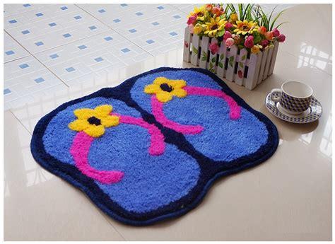 cute bedroom rugs itemship kids rugs slipper foot shaped cute area rug