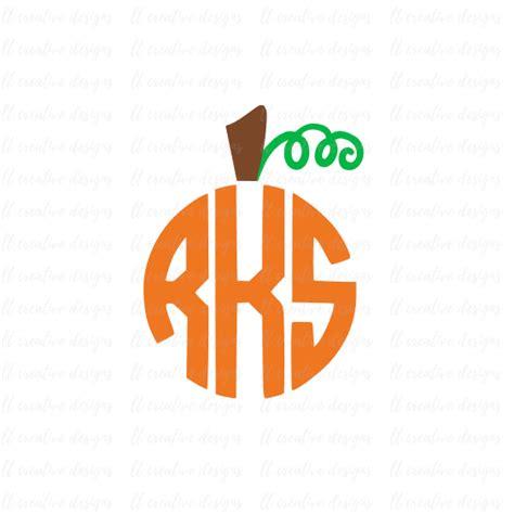 monogram pumpkin templates pumpkin stem svg pumpkin monogram svg fall monogram svg