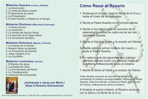 Spanish Bilingual Catholic Prayer Cards   St Therese of Lisieux   St. Joseph   Our Lady of