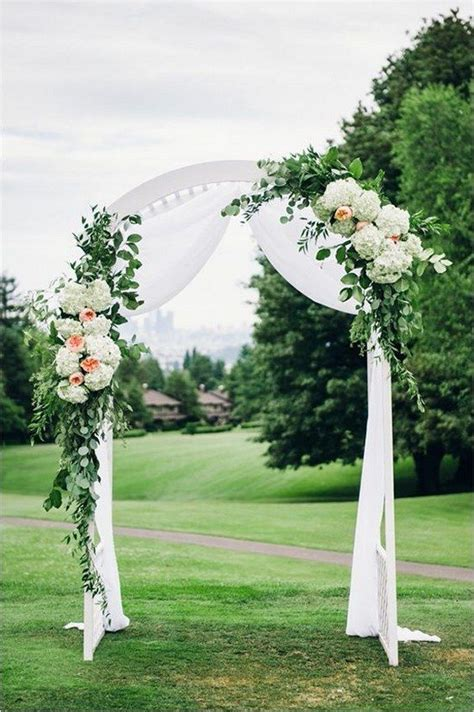 Wedding Arch No Flowers by Best 25 Wedding Arches Ideas On Outdoor