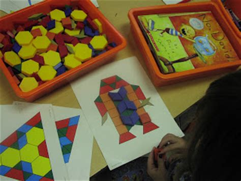 pattern math centers keen on kindergarten center time