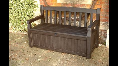 keter outdoor storage bench keter patio storage bench