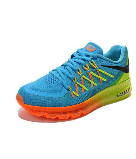 nike air max  blue training shoes