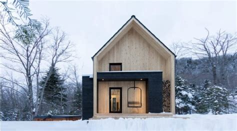 a rustic barn style prefab home design