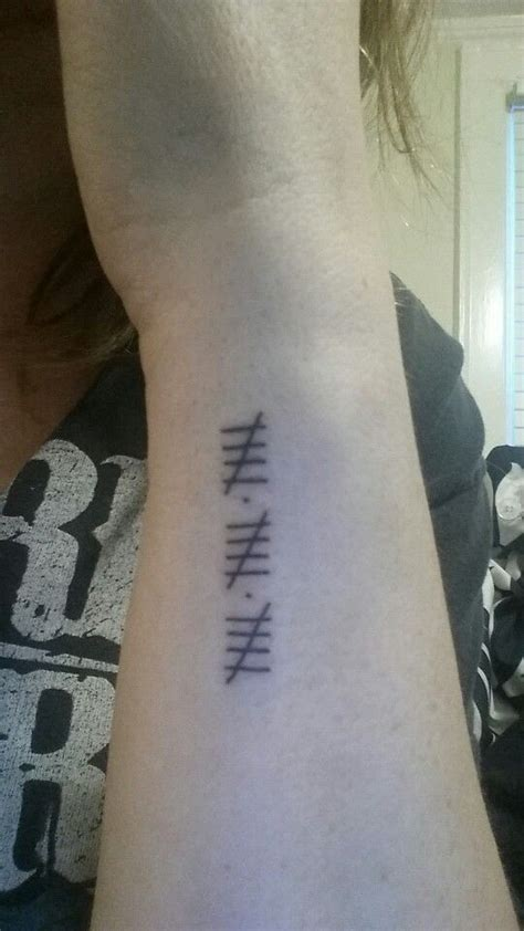 tally mark tattoo 22 best images about tiny tattoos on key