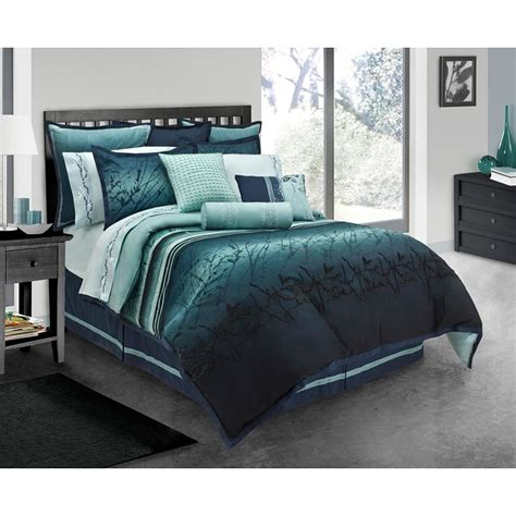 blue queen size comforter blue moon 4 piece queen size comforter set free shipping