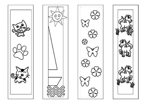 printable animal bookmarks to color animals bookmarks coloring pages animals bookmarks