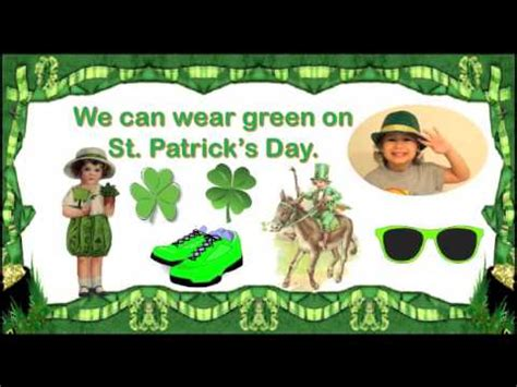 st s day song for children with lyrics
