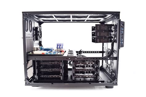 Space Cube Pc Is Fully Functional At 5cm By 5cm by Thermaltake X9 E Atx Cube Review