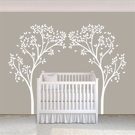 fbcadcbfac pic of white tree wall decals for nursery