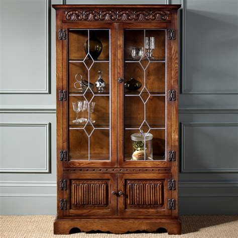Old Charm Display Cabinet 2155