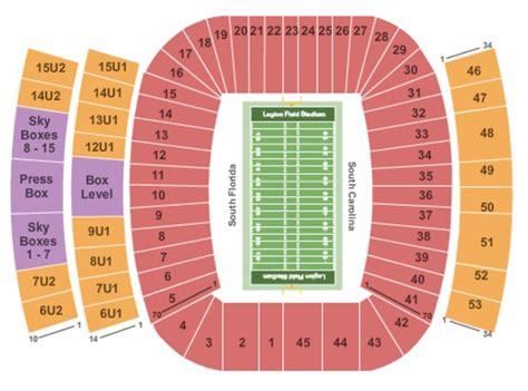 legion field seating chart legion field stadium tickets in birmingham alabama