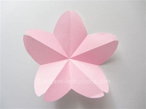 Origami Cherry Blossom - origami cherry blossom arts and crafts