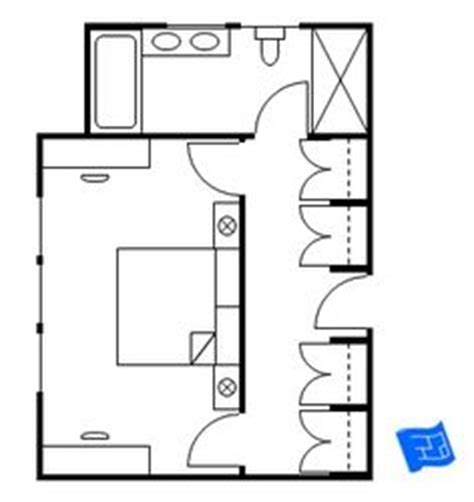 Bedroom Floor Plan With Ensuite 1000 Images About Master Bedroom Floor Plans With