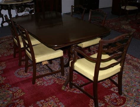 duncan phyfe dining room table mahogany duncan phyfe dining room table and set of six