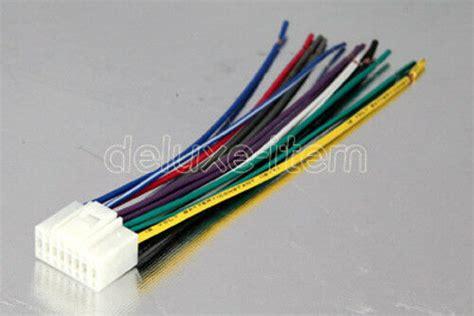 alpine  pin car stereo radio wiring wire harness lead ebay