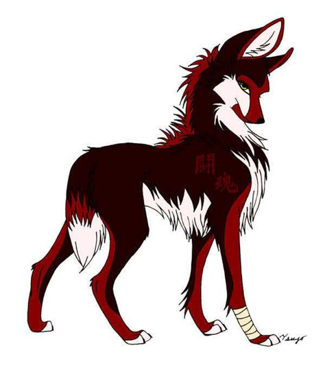 A Anime Wolf by Anime Wolf Wolves Fan 10983899 Fanpop