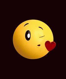gifs de amor videos kiss emoji gif kiss emoji heart discover share gifs