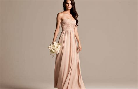 Bridesmaid Dress by Beige Bridesmaid Dresses