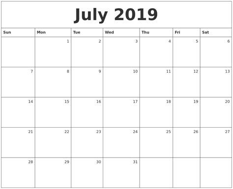 printable monthly calendars with pictures august 2019 calendar printable