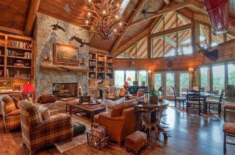 beautiful log home interiors beautiful log cabin interiors www imgkid the image