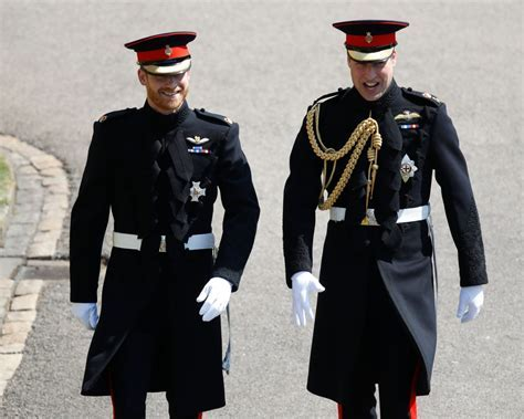 Prince Harry and Best Man Prince William Arrive for Royal