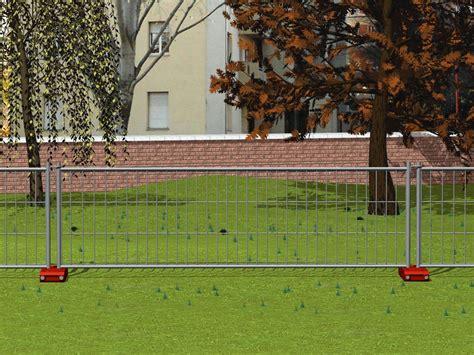 recinzioni mobili recinzione mobile bassa da cantiere minicornice by