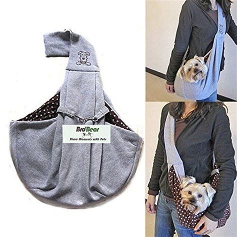 i pet 174 free reversible small cat sling carrier