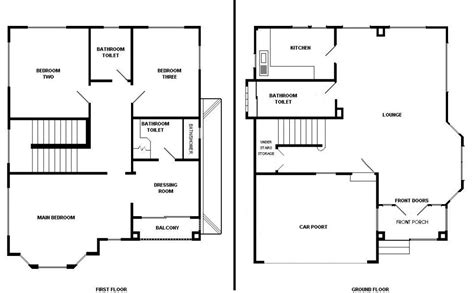 how to make blueprints for a house basic house plans smalltowndjs