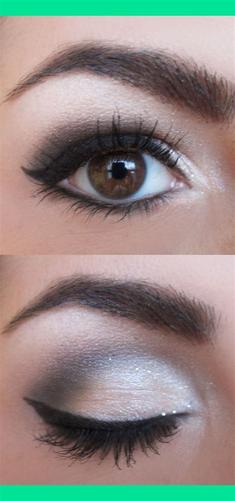 tutorial eyeliner silver white tutorial here http www beautylish com v rzjcii