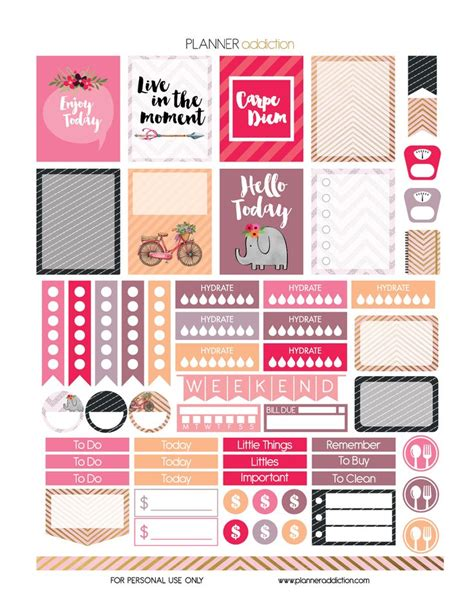 printable eclp stickers 38 best free eclp printables planner stickers erin