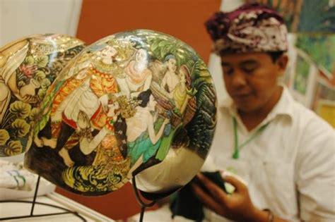 Lukisan Kerang lukisan kerang dari bali momen bisnis