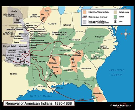 american movement 1830 map answers maps and characters indian removal act of 1830