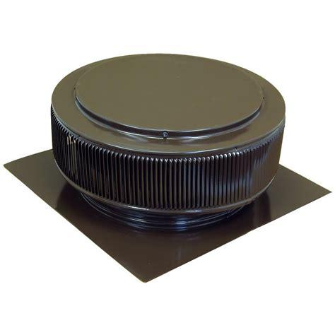 Turbine Ventilator Warna Mustaka Vent 18 active ventilation 14 in brown powder coated aluminum