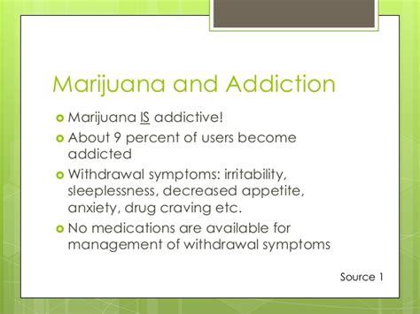 Pot Detox Symptoms by Marijuana Power Point Presentation Dion