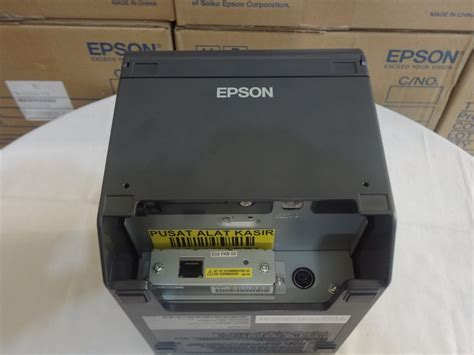 Printer Kasir Thermal Epson Tm T81 jual printer kasir epson tm t82 thermal auto cutter