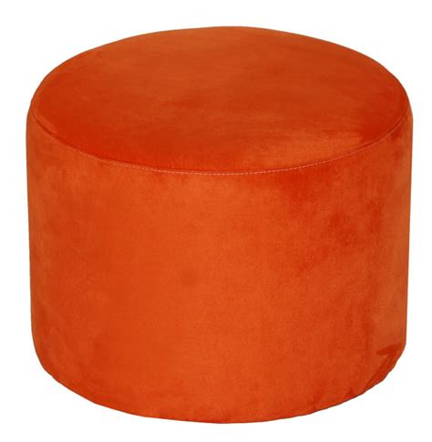 modern round ottoman modern ultrasuede round ottoman in an array of colors